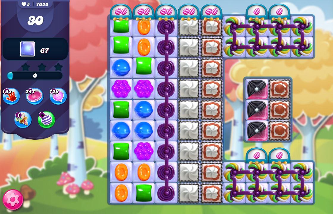 Candy Crush Saga level 7088