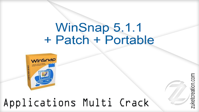 WinSnap 5.1.1 + Patch + Portable   |  14.3 MB