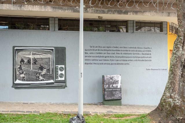 grafite na Rua Duque de Caxias