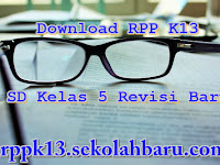 Download RPP K13 SD Kelas 5 Revisi Baru