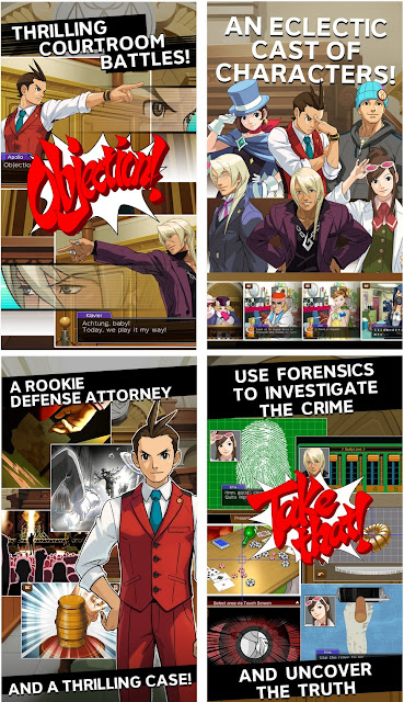 Apollo Justice Ace Attorney Apk+Data
