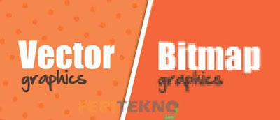 perbedaan vektor dan bitmap atau perbedaan bitmap dan vektor