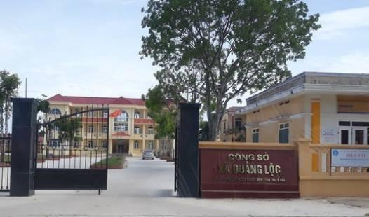 UBND xã Quảng Lộc