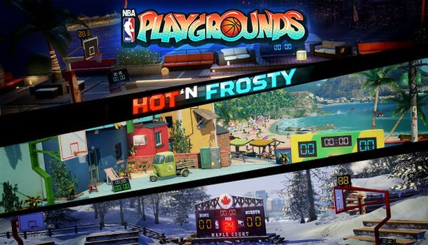 NBA PLAYGROUNDS HOT N FROSTY TÉLÉCHARGEMENT GRATUIT