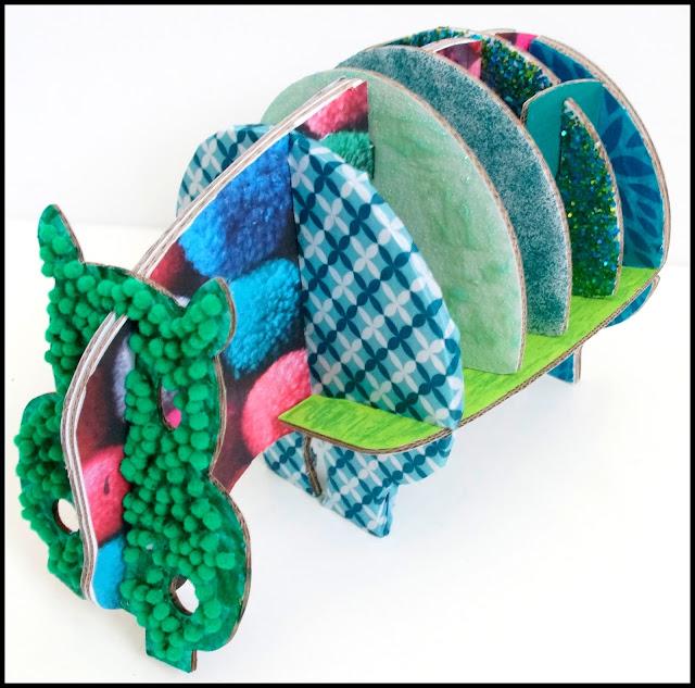 hippopotame à customiser cocorikraft