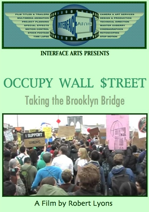 OCCUPY WALL STREET, TAKING THE BROOKLYN BRIDGE