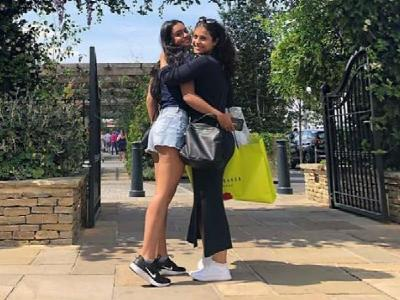 While Ajay Devgn spends time with son Yug, Kajol shares a heartwarming moment with daughter Nysa in London