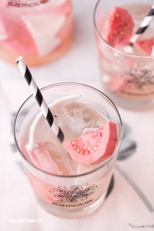 Eistee Rezept mit frischer Guave