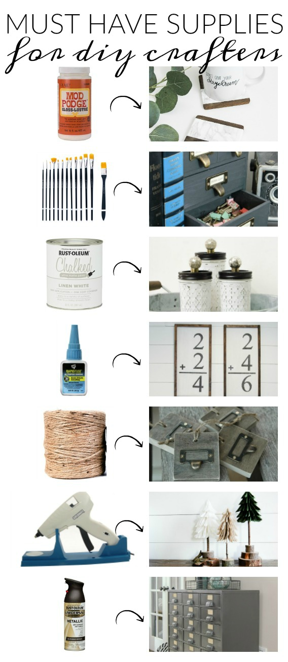Must Have supplies every DIY crafter should own