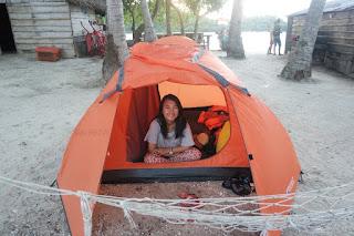 camping di pulau pamutusan padang