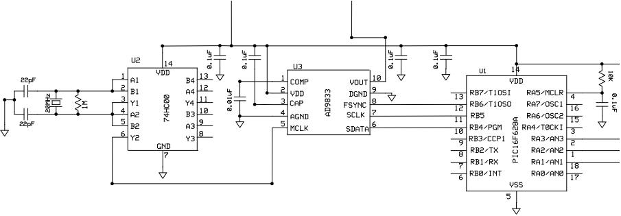 Ham Radio MIPL: D D S  using AD9833
