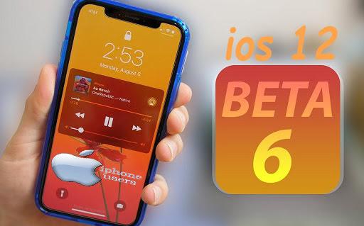 الجديد في الإصدار التجريبي السادس من iOS 12