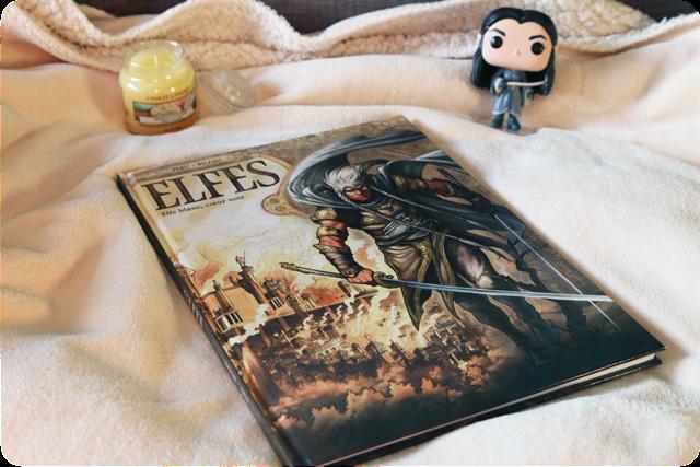 Elfes, tome 3 : Elfe blanc, cœur noir d'Olivier Peru et Stéphane Bileau