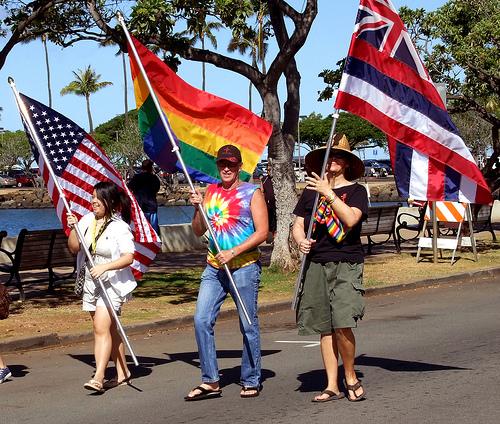 All Hawaii News: Gay military color guard to lead Honolulu