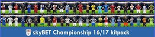 KitsPack PES 2017 (Skybet Championship Season 16/17)
