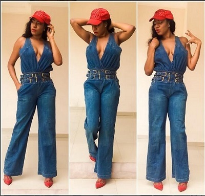 Hot! Nollywood Actress, Chika Ike Shows Off S*xy Cleavage in New Photos
