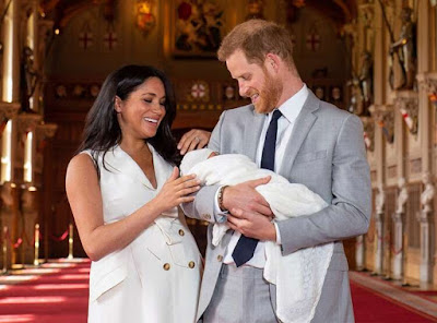 #RoyalBaby Meghan Markle and Prince Harry's Son's photos
