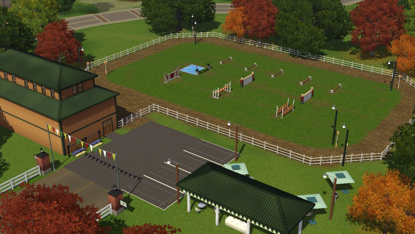 Sims 3 Community Lots Compendium Sims 3 Horse Ranches