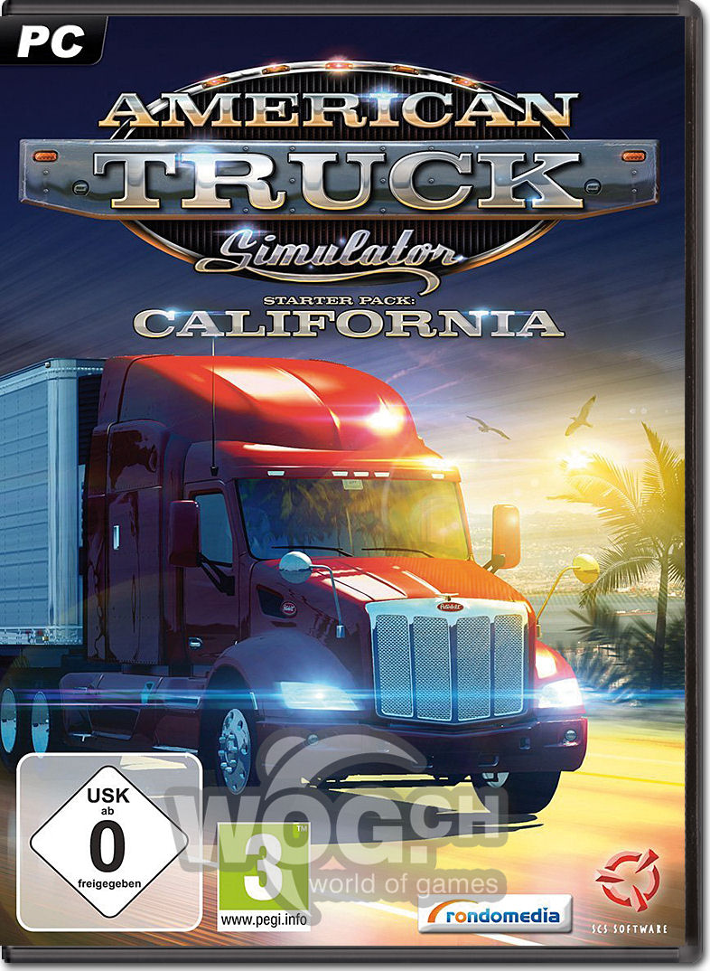 American Truck Simulator PC Game Torrent Download ...