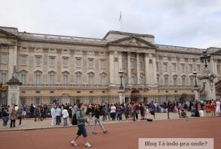 troca de guarda em Londres