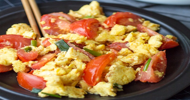 Easy Chinese Tomato Eggs Recipe