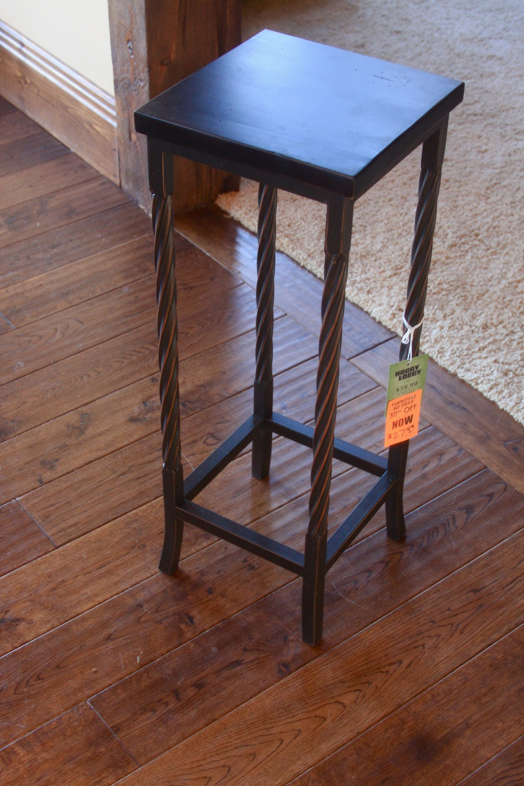 hobby lobby table and chairs recliner costco diy metallic furniture fashions by clarissa