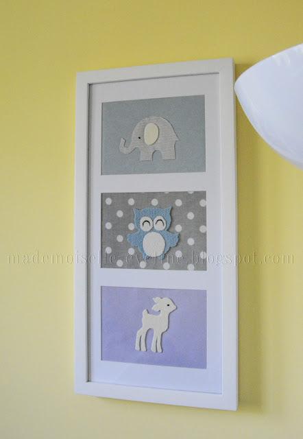 DIY: obrazek do pokoju dziecka