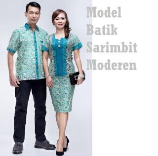 Gaya baju batik untuk pasangan kerja kantor