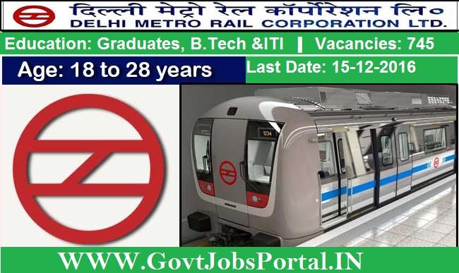 Delhi Metro Recruitment For 740 Station Master Engineers