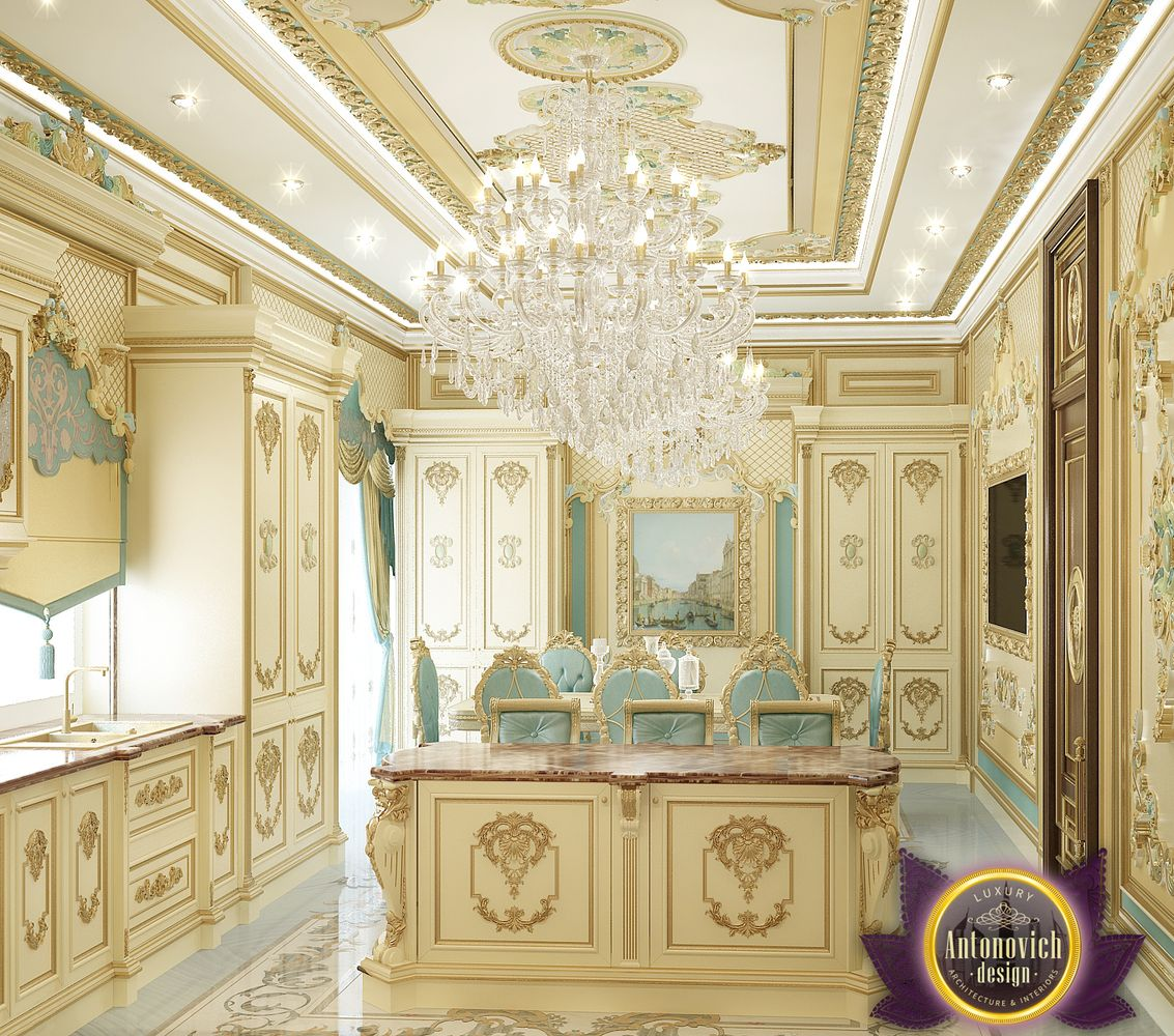 Royal Kitchen Design: LUXURY ANTONOVICH DESIGN UAE