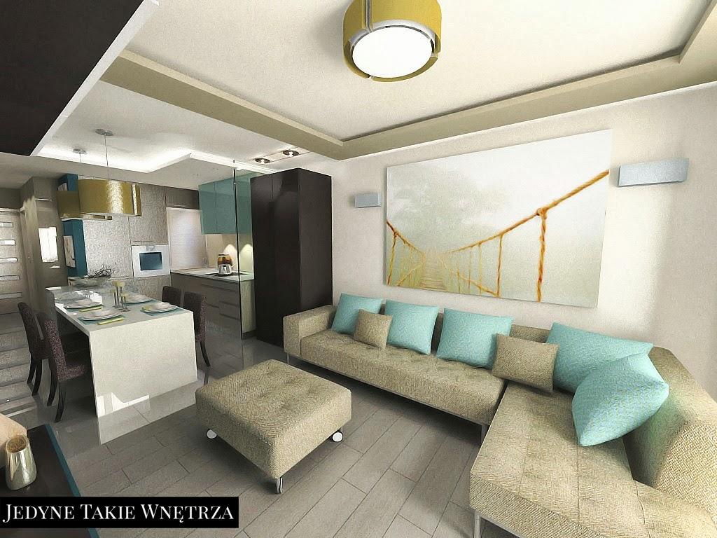 Projekt mieszkania zainspirowanego IKEĄ