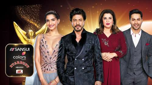 Poster Of Sansui Colors Stardust Awards 8th January 2017 800MB  720p HEVC Free Download Watch Online world4ufree.org