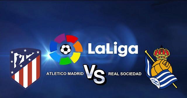 Atletico Madrid vs Real Sociedad 2 Desember 2017