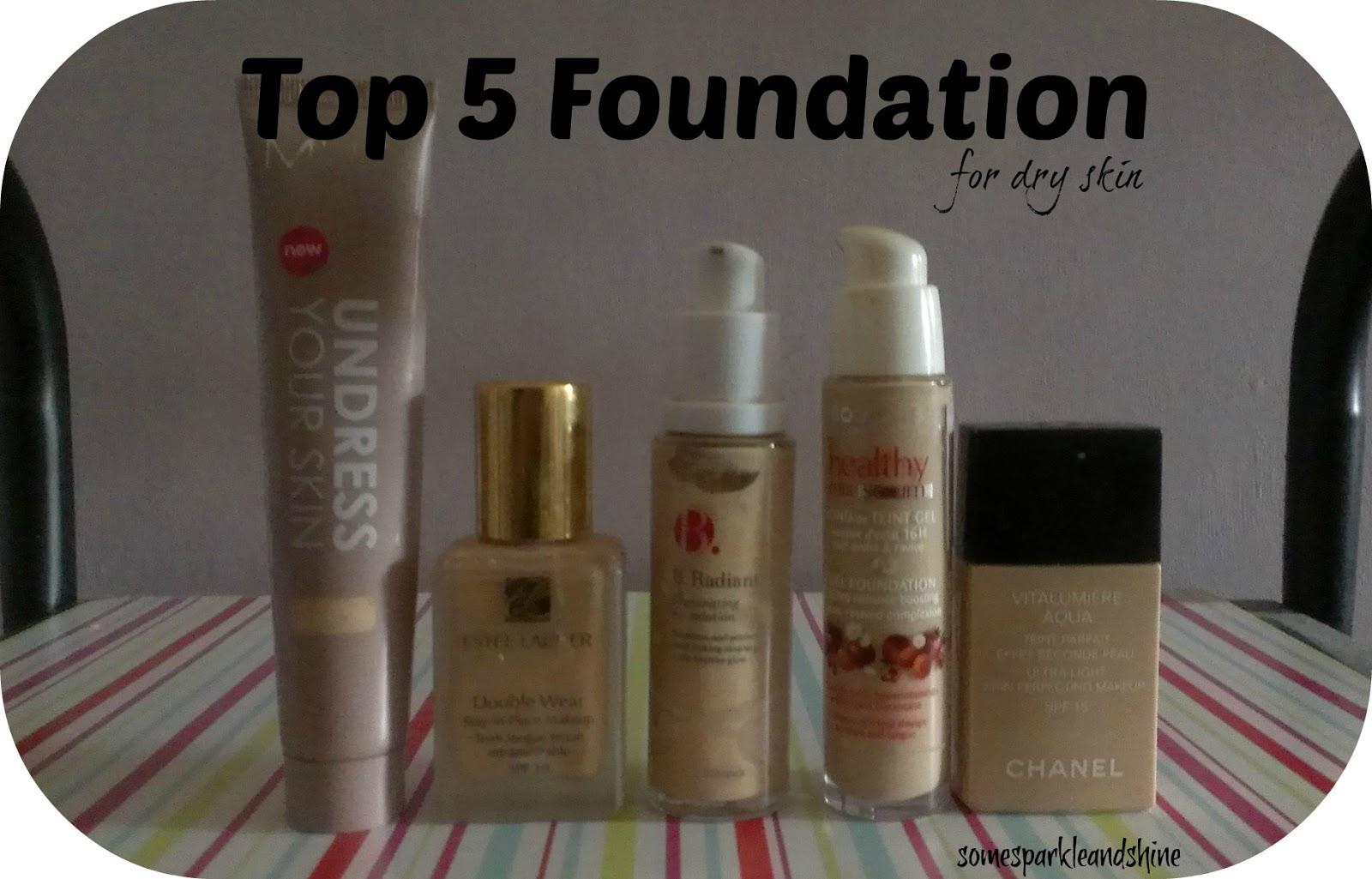 Top 5 Foundations For Dry, Pale Skin: Estee Lauder, MUA