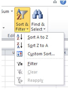Cara Mengurutkan atau Sorting Data di Microsoft Excel