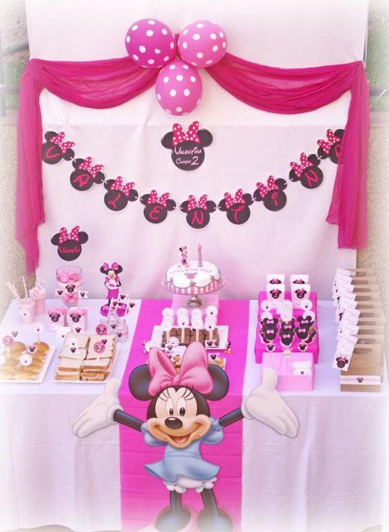 Ideias festa menina- Minnie