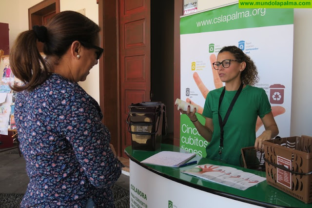 El Consorcio de Servicios inicia este lunes la recogida selectiva de residuos orgánicos en la Villa y Puerto de Tazacorte