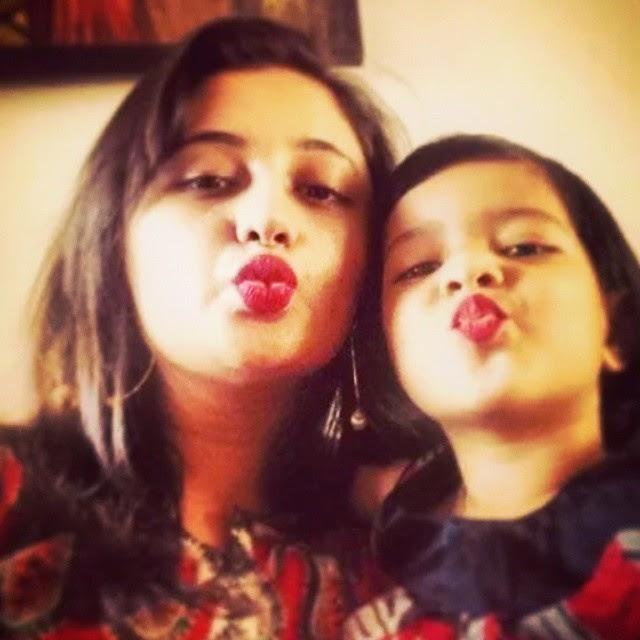 rashmi and her daughter♥♥♥♥♥ rashmi desai , love ,