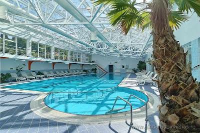 piscina albastra, de vis
