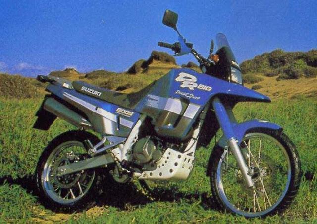 suzuki DR800 Big - As novas clássicas...