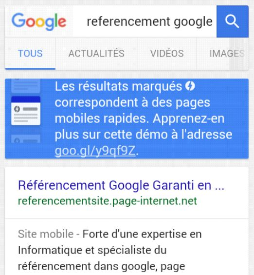pages AMP