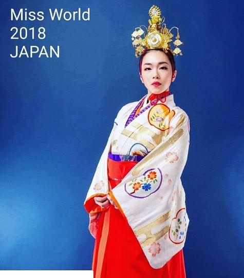 Miss World 2018 Japan Kanako Date