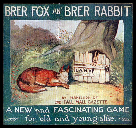 Brer Fox an' Brer Rabbit 1913 box cover