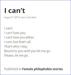 Female Philophobia Story