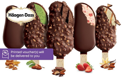 Haagen-Dazs Ice Cream Cash Voucher Malaysia Discount Offer Promo