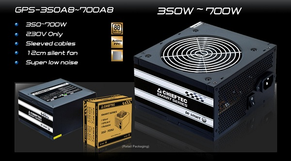 Chieftec GPS-450A8 / GPS-500A8 / GPS-550A8 / GPS-600A8