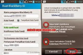 Cara Mengaktifkan BBM Android Terbaru