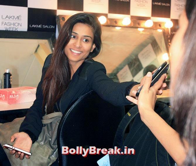 Preeti Chauhan, Hot Models Backstage Pics - Lakme India Fashion Week