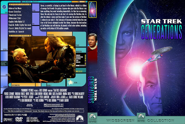 Capa DVD Star Trek Generations