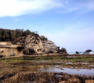 pesisir pantai ranca buaya